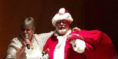 Betty Jones & Santa Allen